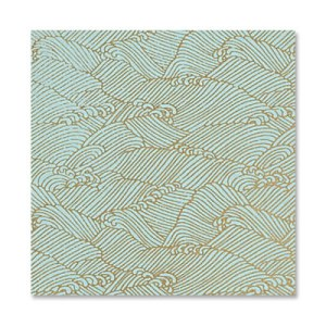 Paper Source: Yuzen Pool Gold Waves
