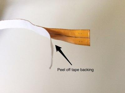 tapebacking