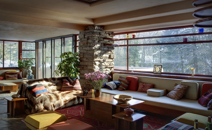 Photo Courtesy of the Western Pennsylvania Conservancy. Fallingwater is located in Mill Run, Pa., 724-329-8501.